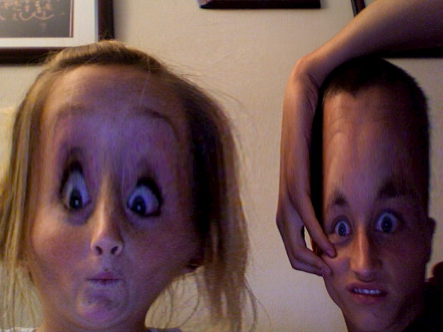 messing around on the mac