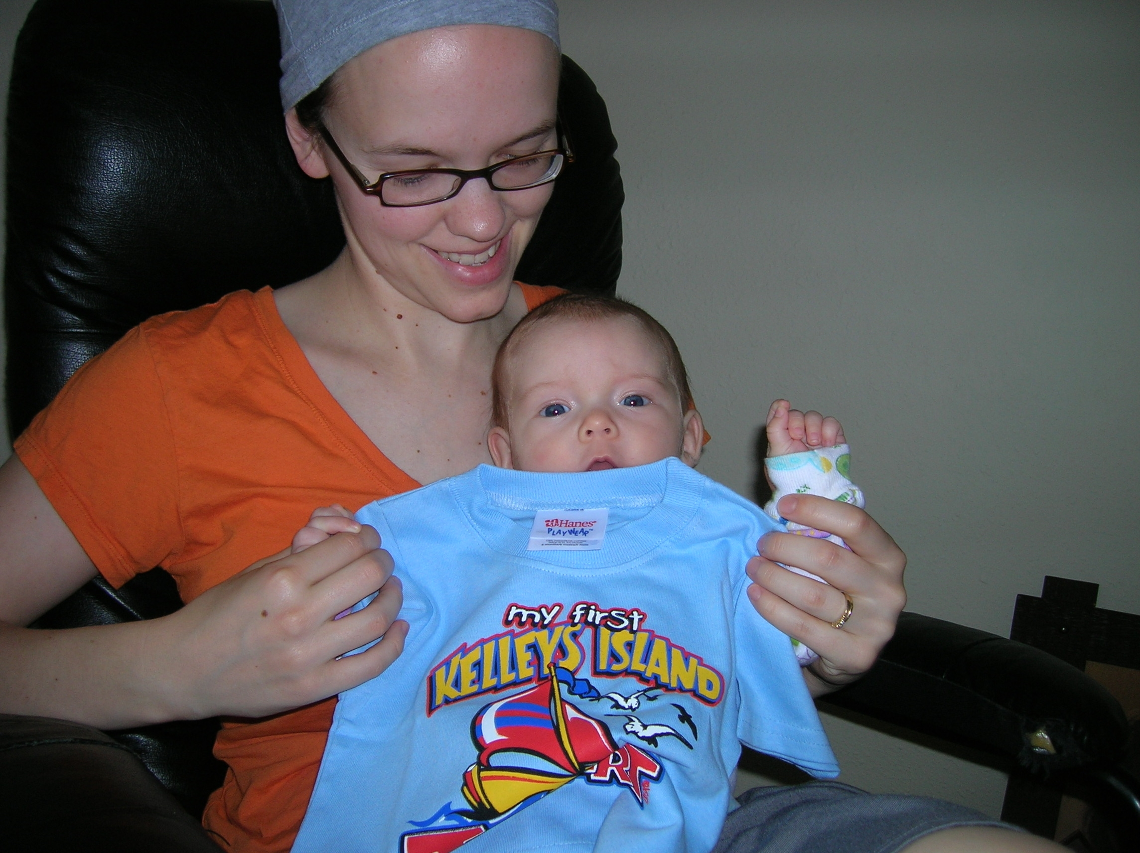 Ava's First Kelley's Island T